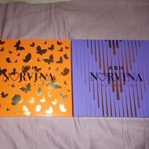 🎈2/$65🎈ABH Norvina Pro Pigment Palettes Vol 1&3